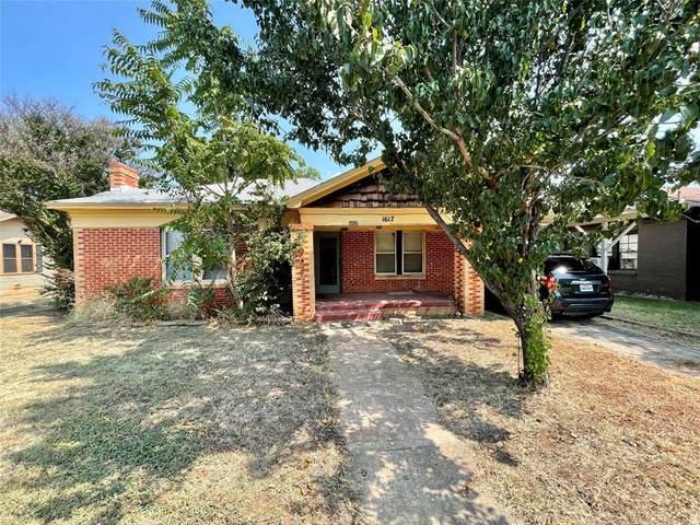 1617 Sycamore Street, Abilene, TX 79602 (MLS #14671309) :: Real Estate By Design