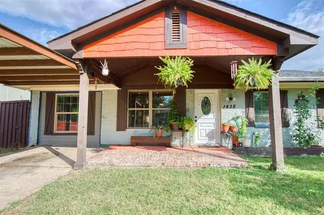 1438 Curtis Drive, Garland, TX 75040 (MLS #14671349) :: VIVO Realty