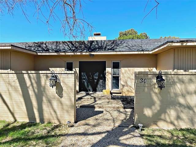 30 Cobblestone Lane, Abilene, TX 79606 (MLS #14671493) :: Real Estate By Design