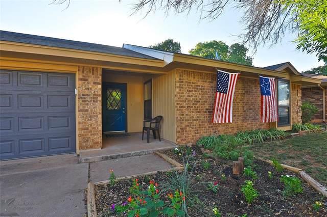 11 Verbena Street, Abilene, TX 79606 (MLS #14671564) :: Real Estate By Design