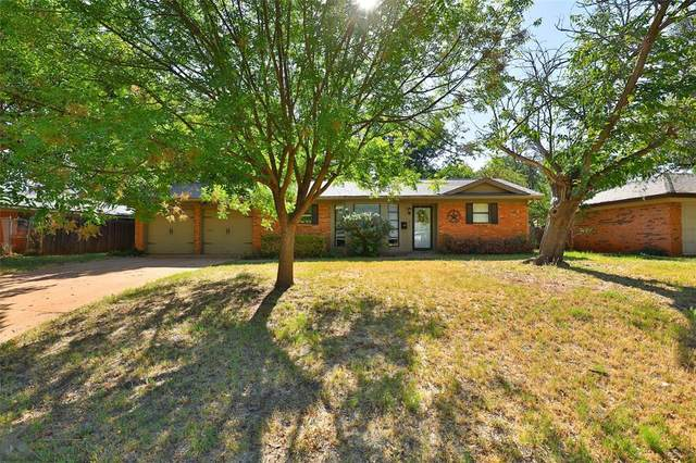 2401 Brentwood Drive, Abilene, TX 79605 (#14671604) :: Homes By Lainie Real Estate Group