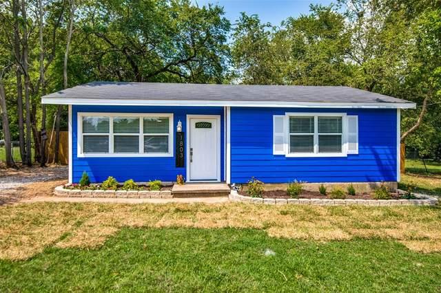1803 Tyler Street, Denton, TX 76209 (MLS #14671921) :: The Mauelshagen Group