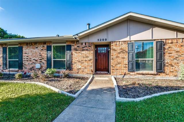 5200 Cole Drive, The Colony, TX 75056 (MLS #14672086) :: Real Estate By Design