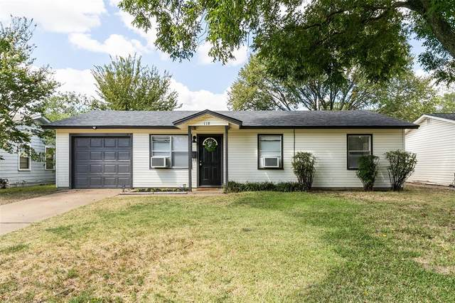 118 Tarrant Drive, Euless, TX 76039 (MLS #14672137) :: Real Estate By Design