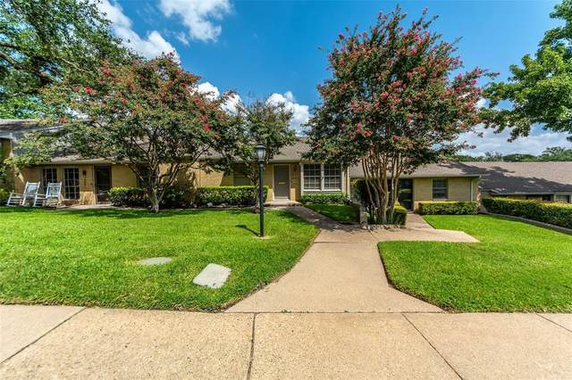 7509 Riverbrook Drive #4, Dallas, TX 75230 (#14672144) :: Homes By Lainie Real Estate Group