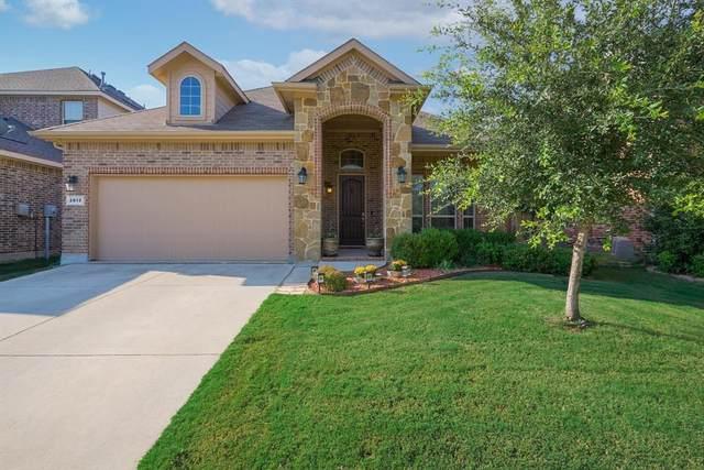 2812 Frontier Drive, Denton, TX 76210 (MLS #14672245) :: Real Estate By Design