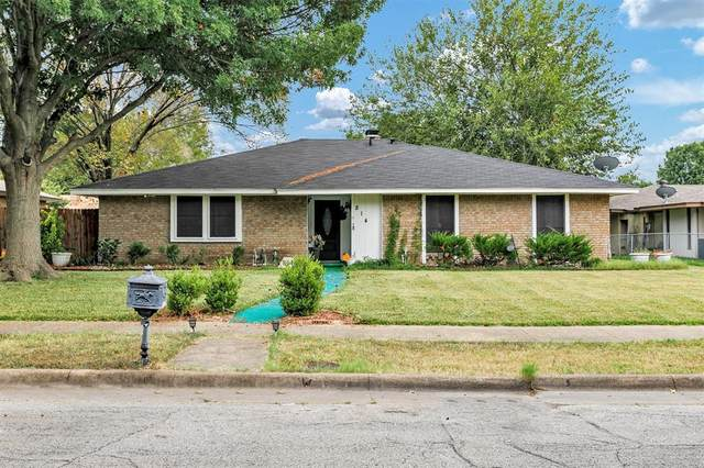 814 Waynelee Drive, Lancaster, TX 75146 (#14672257) :: Homes By Lainie Real Estate Group
