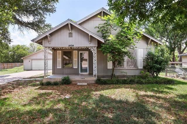 1404 Stanwood Avenue, Cleburne, TX 76033 (MLS #14672326) :: Maegan Brest | Keller Williams Realty