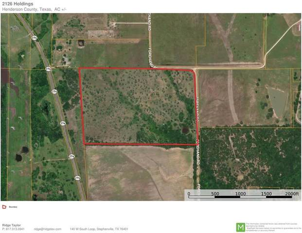 0000 Forehand Road, Trinidad, TX 75163 (MLS #14672536) :: Robbins Real Estate Group