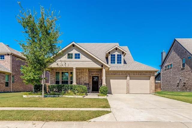221 Dragonfly Drive, Prosper, TX 75078 (MLS #14672564) :: Real Estate By Design