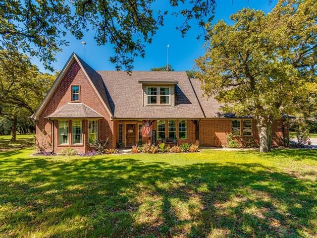 166 Smokey Terrace Lane, Weatherford, TX 76085 (MLS #14672666) :: Texas Lifestyles Group at Keller Williams Realty