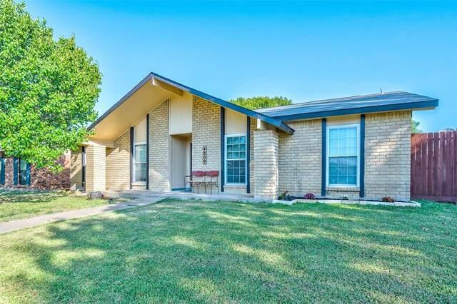 4809 Brandenburg Lane, The Colony, TX 75056 (MLS #14673046) :: Real Estate By Design