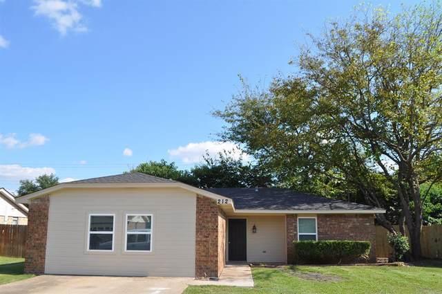212 Myrtle Avenue, Waxahachie, TX 75165 (MLS #14673415) :: The Juli Black Team