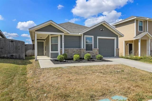 1808 Wickham Drive, Burleson, TX 76028 (MLS #14673423) :: EXIT Realty Elite