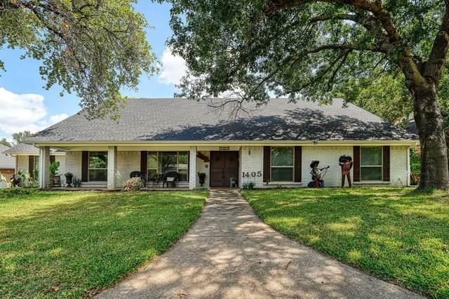 1405 Woodbine Street, Arlington, TX 76012 (MLS #14673605) :: Real Estate By Design