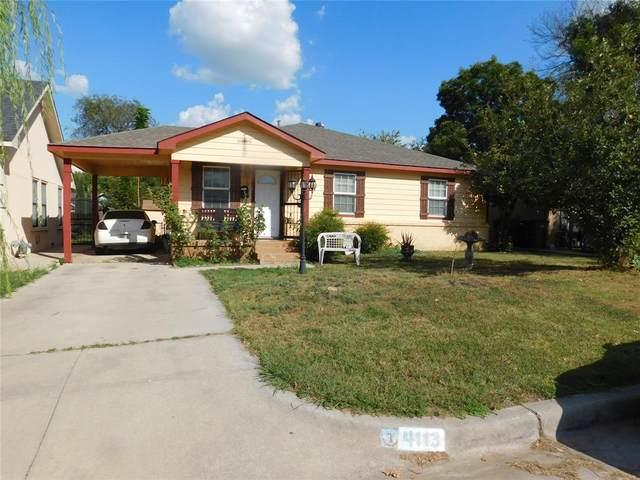 4113 Fry Street, Fort Worth, TX 76115 (MLS #14673829) :: The Hornburg Real Estate Group