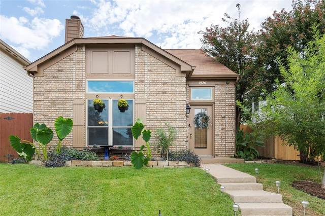 1926 Meadowview Court, Carrollton, TX 75010 (MLS #14674230) :: Real Estate By Design