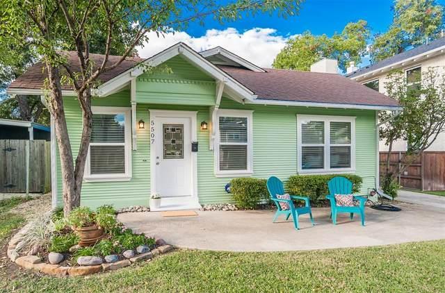 5507 Goodwin Avenue, Dallas, TX 75206 (MLS #14674326) :: Real Estate By Design