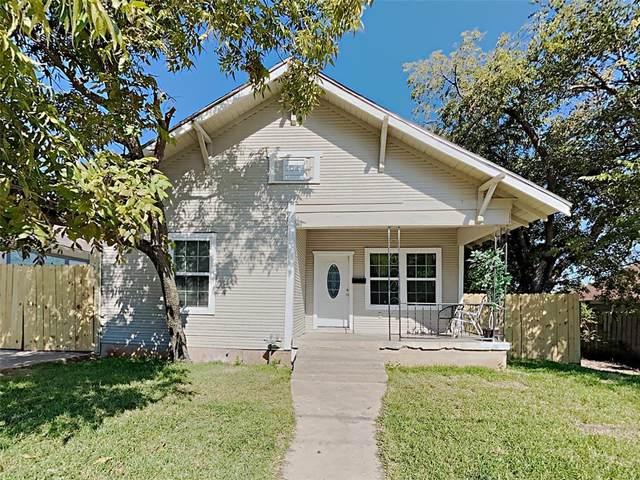 816 16th Street, Fort Worth, TX 76164 (MLS #14674602) :: Premier Properties Group of Keller Williams Realty
