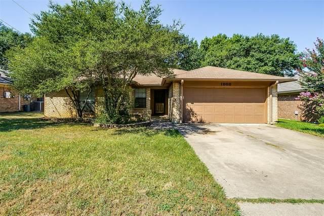 1868 Larkspur Drive, Arlington, TX 76013 (MLS #14674645) :: Real Estate By Design