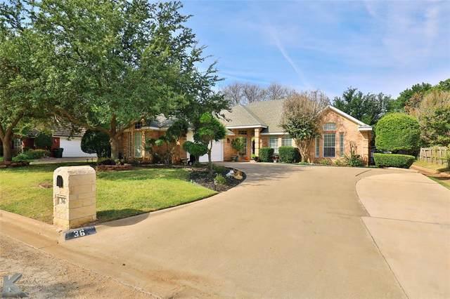 36 Hoylake Drive, Abilene, TX 79606 (MLS #14674747) :: The Russell-Rose Team
