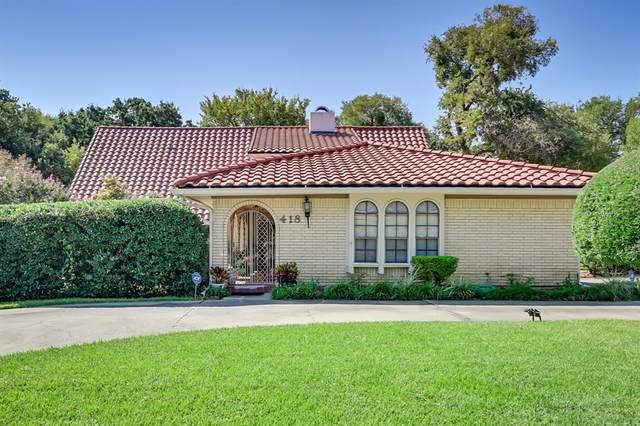 418 Washington Drive, Arlington, TX 76011 (MLS #14674919) :: Real Estate By Design
