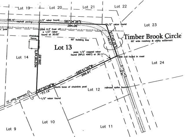LOT 13 Timber Brook Circle, Denison, TX 75021 (MLS #14674996) :: The Mauelshagen Group