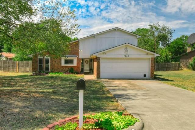 1836 Timberline Drive, Benbrook, TX 76126 (MLS #14675045) :: The Hornburg Real Estate Group