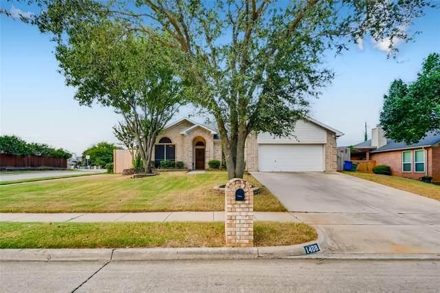 1408 Rancho Dominguez Road, Corinth, TX 76210 (MLS #14675194) :: Real Estate By Design