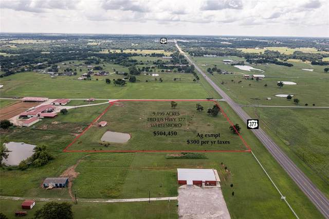 TBD Us Highway 377 B, Whitesboro, TX 76273 (MLS #14675249) :: VIVO Realty