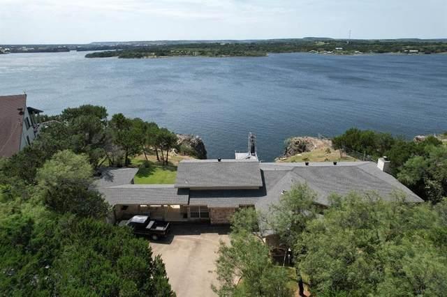 1003 Agarita Circle, Possum Kingdom Lake, TX 76449 (MLS #14675460) :: The Star Team | Rogers Healy and Associates