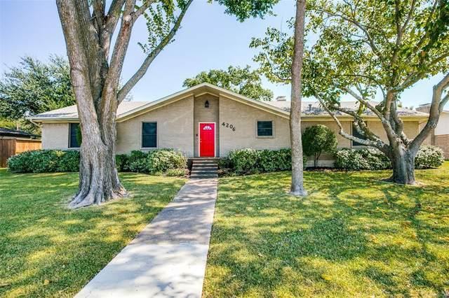 4206 Southridge Drive, Rowlett, TX 75088 (MLS #14675545) :: Real Estate By Design