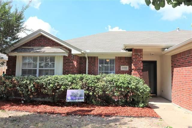 100 Adams Drive, Crowley, TX 76036 (MLS #14675551) :: Real Estate By Design