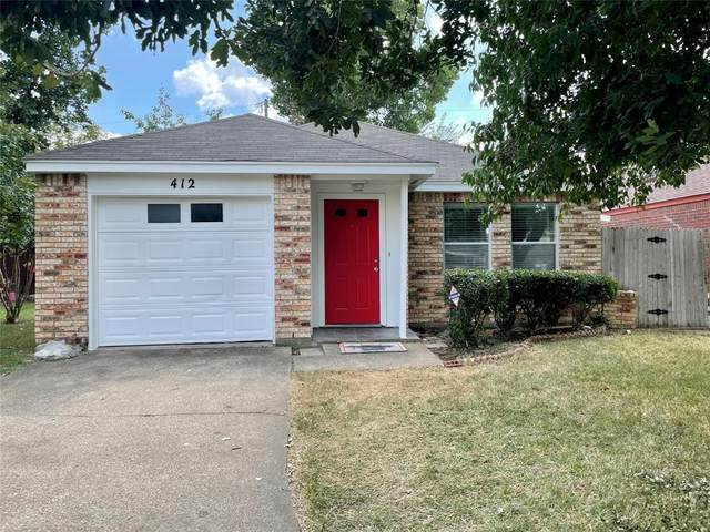 412 Jaynes Court, Irving, TX 75060 (MLS #14675622) :: Real Estate By Design