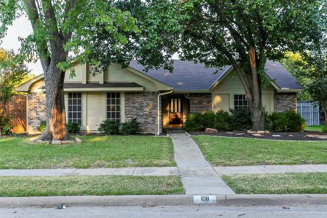 106 Creekside Lane, Coppell, TX 75019 (MLS #14675765) :: The Rhodes Team