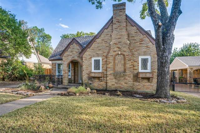 2756 Catherine Street, Dallas, TX 75211 (MLS #14675780) :: The Heyl Group at Keller Williams