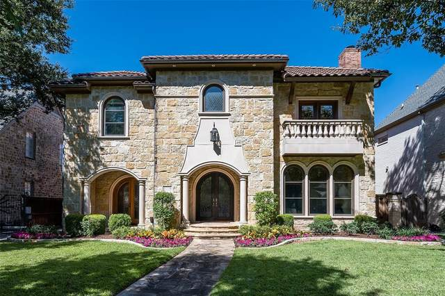 4216 Hanover, University Park, TX 75225 (MLS #14675838) :: Real Estate By Design