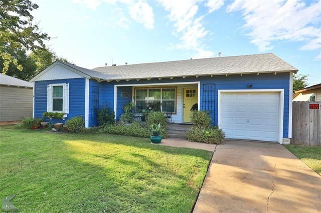 3257 College Street, Abilene, TX 79605 (MLS #14675841) :: Texas Lifestyles Group at Keller Williams Realty