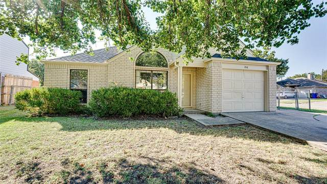 106 Marvin Gardens, Waxahachie, TX 75165 (MLS #14675898) :: The Russell-Rose Team