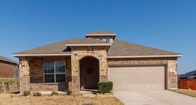 205 Rock Meadow Drive, Crowley, TX 76036 (MLS #14675907) :: Real Estate By Design