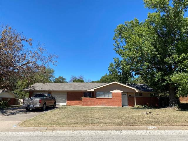 1417 Thompson Drive, Graham, TX 76450 (MLS #14676228) :: Real Estate By Design