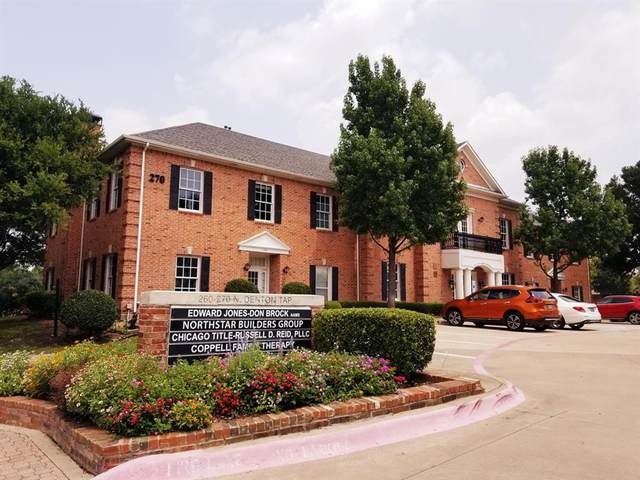 260 N Denton Tap, Coppell, TX 75019 (MLS #14676328) :: KW Commercial Dallas