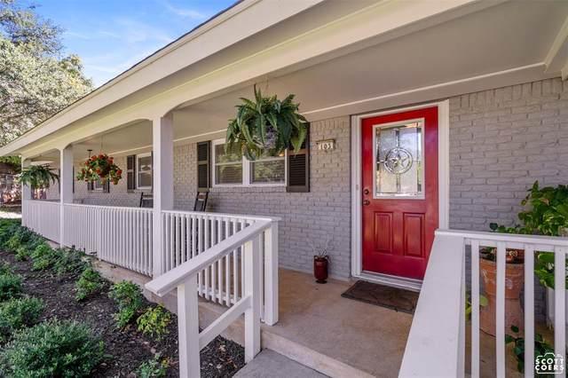 103 Hillview Circle, Brownwood, TX 76801 (MLS #14676371) :: Frankie Arthur Real Estate