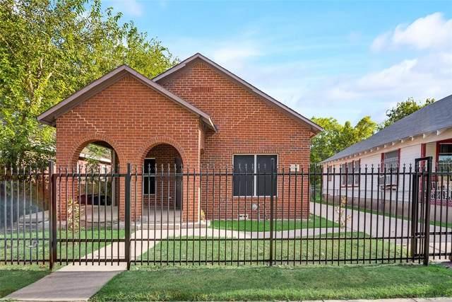 1112 Bessie Street, Fort Worth, TX 76104 (MLS #14676423) :: Real Estate By Design