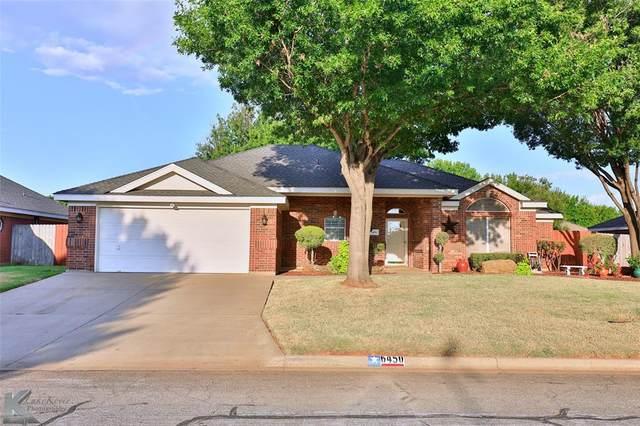 6450 Todd Run, Abilene, TX 79606 (MLS #14676474) :: Texas Lifestyles Group at Keller Williams Realty