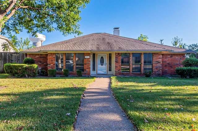 820 Sycamore Creek Road, Allen, TX 75002 (MLS #14676930) :: Front Real Estate Co.