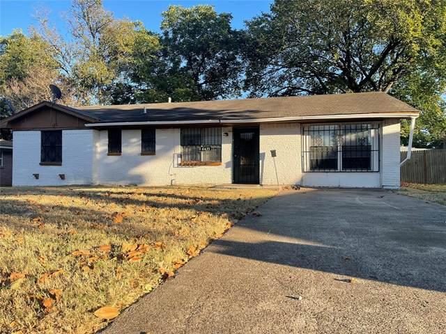 6433 La Grange Drive, Dallas, TX 75241 (MLS #14677288) :: The Good Home Team