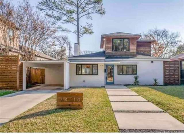 7410 Morton Street, Dallas, TX 75209 (MLS #14677450) :: Real Estate By Design