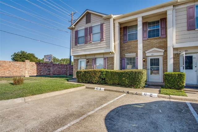 609 Carriagehouse Lane C2, Garland, TX 75040 (MLS #14677483) :: Trinity Premier Properties