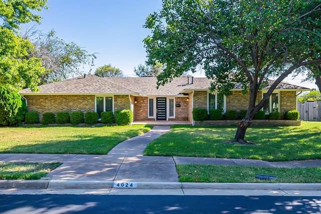 4024 Mendenhall Drive, Dallas, TX 75244 (MLS #14677613) :: The Chad Smith Team
